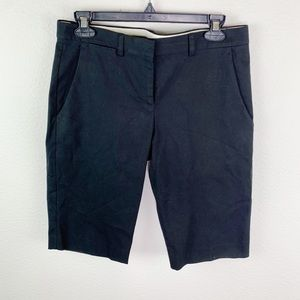 Theory Black Straight Front Shorts C216